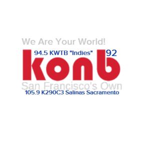 92.1 KONB San Fracisco and 94.5 KWTB-HD3