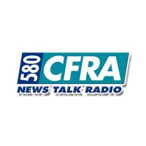 Radio CFRA News Talk Radio 580 AM